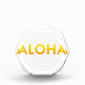 ALOHA Maui Hawaii Print Acrylic Award
