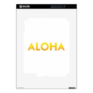 ALOHA Maui Hawaii Print Skin For iPad 2