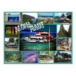 Aloha Maui Postcard