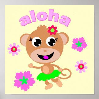 aloha monkey screen.ai poster