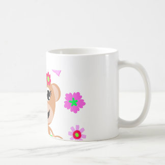 aloha monkey screen. coffee mug