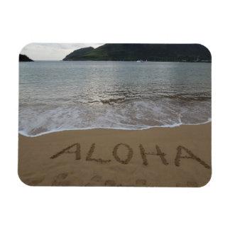 Aloha on the Beach in Kauai Rectangular Photo Magnet