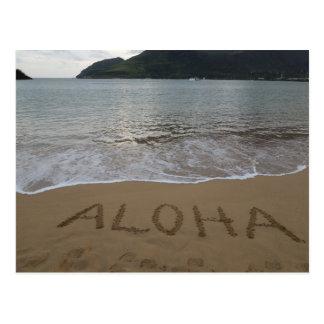 Aloha on the Beach Postcard