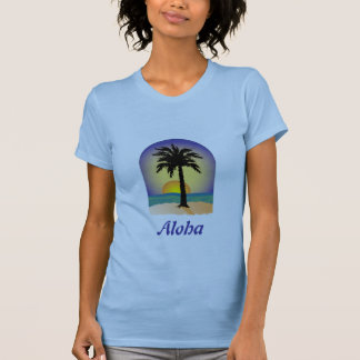 Aloha Palm Tree T-Shirt