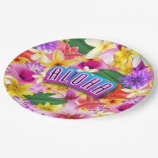 Aloha! Paper Plate