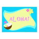 """ALOHA Party 2 5"""" X 7"""" Invitation Card"""