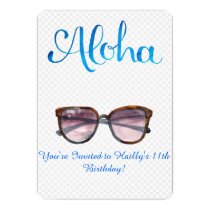 ALOHA PARTY CARD