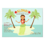 """Aloha Party Invitation 5"""" X 7"""" Invitation Card"""