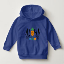 Aloha Pineapple Design - Toddler Pullover Hoodie