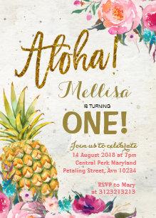 aloha invitations zazzle