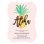 Aloha Pineapple Party Invitation