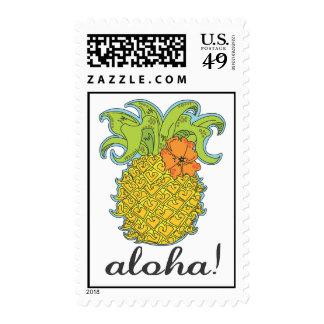 Aloha Pineapple Stamp
