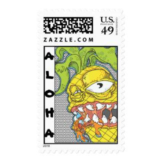 Aloha Pineapple Stamps
