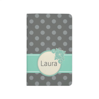 Aloha Polka Dot Pattern Personalized Journal
