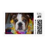 Aloha Postage Stamp