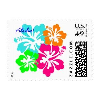 Aloha! Postage Stamp