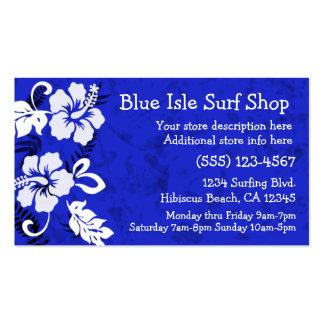 Aloha Print Business Card Template