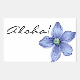Aloha! Rectangular Sticker