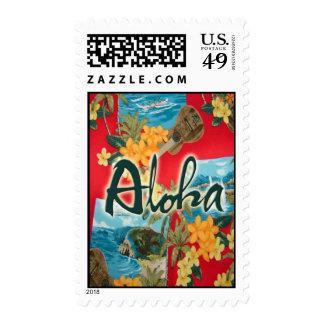 Aloha Red Stamps