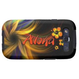 Aloha - Samsung Galaxy S3 Vibe Case Samsung Galaxy SIII Case