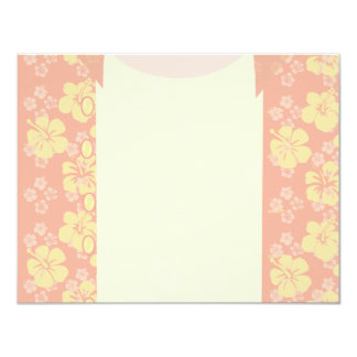Aloha Shirt Stationery Card