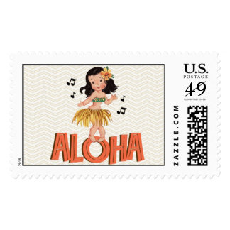 Aloha Stamp by Loralee Lewis