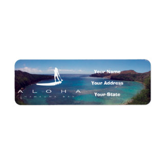 Aloha Stand Up Paddle and Hanauma Bay Label