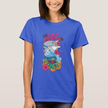 Beach Themed aloha T-Shirt