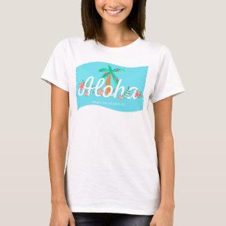 Aloha Tropical Summer Vacation Floral Paradise T-Shirt