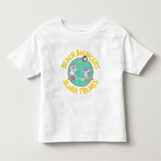 Aloha Trunks Beach Bouncers Toddler T-shirt