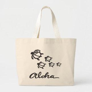 Aloha turtle 2.png tote bags