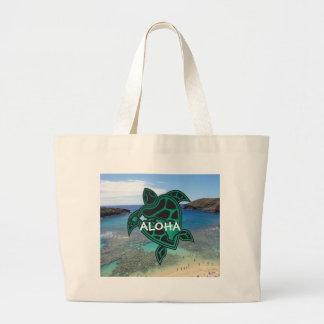 Aloha Turtle Hawaii Beach Bag