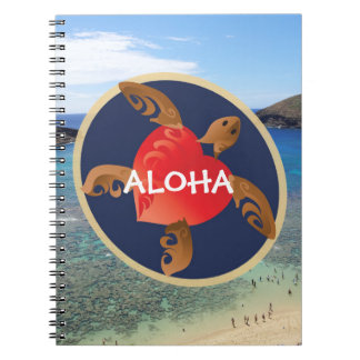 Aloha Turtle Note Book