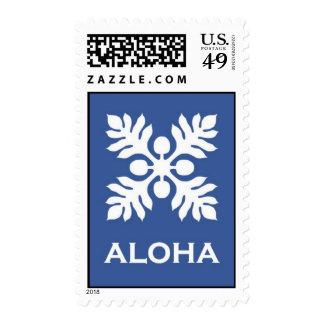 Aloha ('Ulu - blue) Stamp