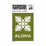 Aloha ('Ulu - green) Postage Stamps