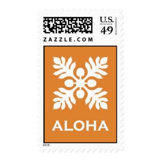 Aloha ('Ulu - orange) Postage