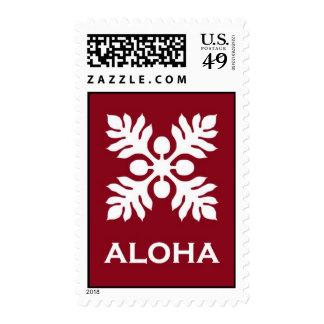 Aloha ('Ulu - Red) Stamps