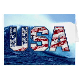 Aloha USA Wave Greeting Cards