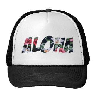 Aloha Vintage Hawaiian Print.png Trucker Hat