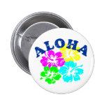 Aloha Vintage Pinback Button