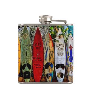 Aloha Y'all Flask