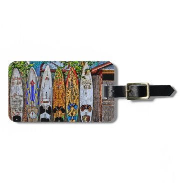 DJsParadise Aloha Y'All luggage tag