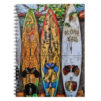 Aloha Y'all Notebook