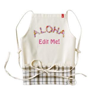 Aloha! Zazzle HEART Apron