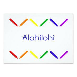 Alohilohi Card