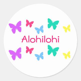 Alohilohi Classic Round Sticker