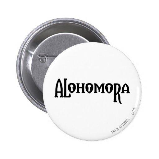 Alohomora Pinback Button