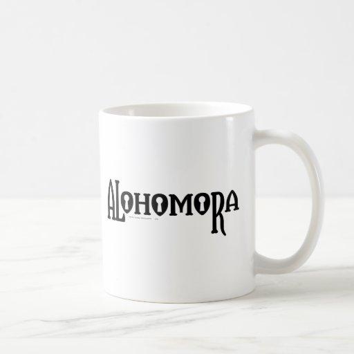 Alohomora Classic White Coffee Mug