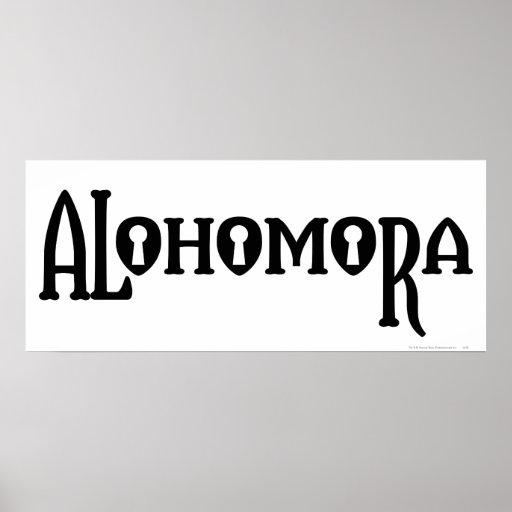 Alohomora Poster