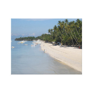 Alona Beach, Panglao Island, Bohol, Philippines Canvas Print